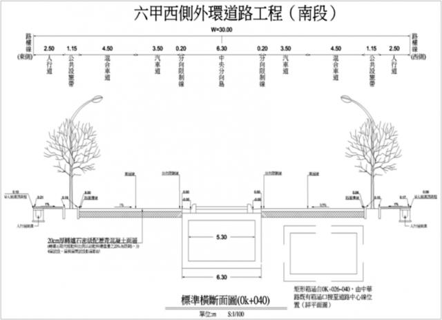 六甲西側外環道路工程(南段)