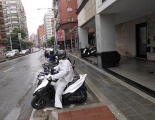 ↑規劃後人行道保持淨空