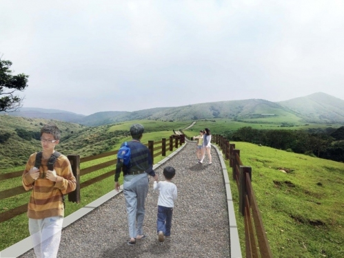 Yangmingshan National Park Headquarters decided to adopt a visitor-buffalo segregation method to prevent future incident of conflicts between visitors and buffaloes
