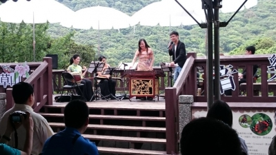 "The ""Yangmingshan Butterfly Concert"" held at the Datun Visitor Center."
