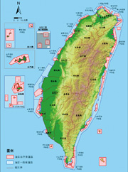 First alteration of Taiwan Coastal Natural Environment Conservation Program (Draft) protected areas